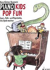 Klavier Noten : Piano Kids POP FUN -  leicht - leichte Mittelstufe  (HEUMANN)
