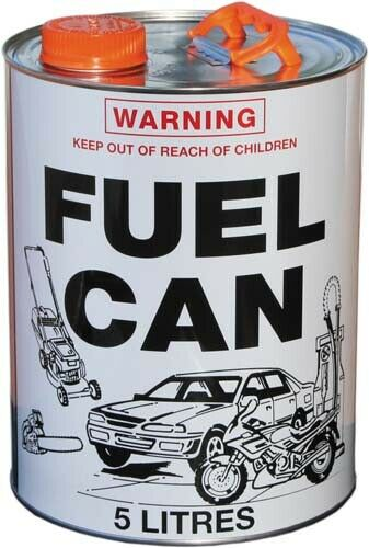 Cargo Mate Fuel Can 5 Ltr Metal