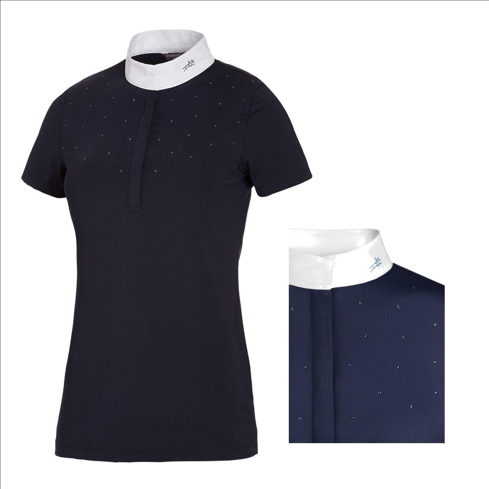 Schockemöhle torneo Shirt  Charlet-style  show camisa, señora camisa torneo