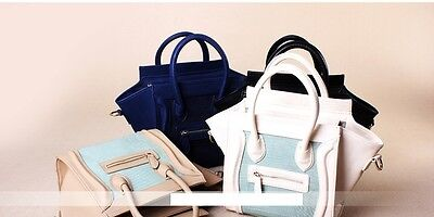 Luxury Brand Designer Classic Smiley Cross Body Tote Women Bag, Smile Face KH001