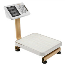 176lbs 80kg Digital Platform Scale Weight Shipping Personal Floor Postal Scale