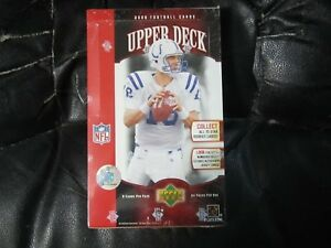 2006-Upper-Deck-Football-Factory-Sealed-Hobby-Box-24-Packs-8-Card-Pk-C