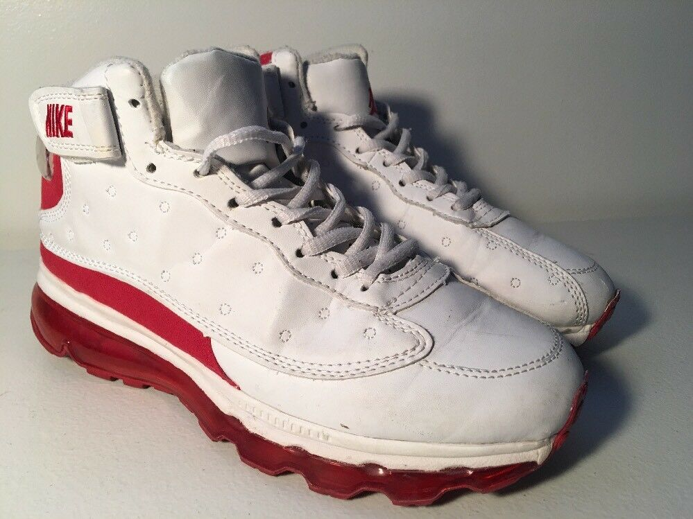 Air Jordan Max Fusion Nike Retro 2012 Size 7 Red & White