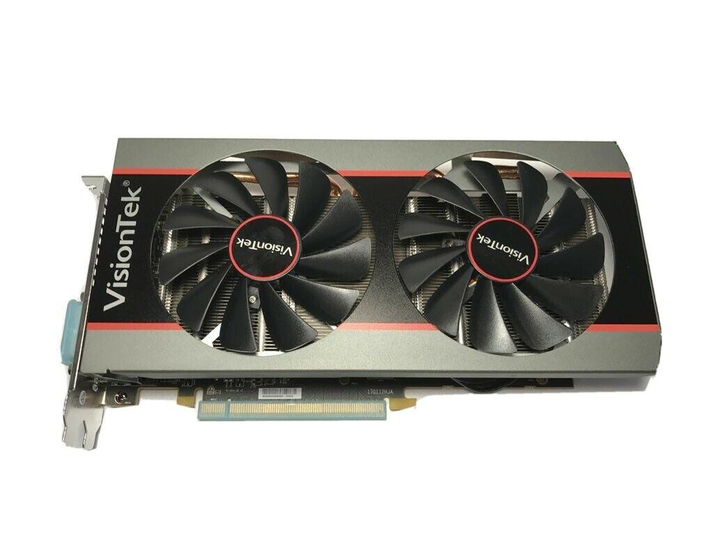 Refurbished VisionTek RX 570 4GB Radeon AMD RX570 Graphics Card Sapphire MSI