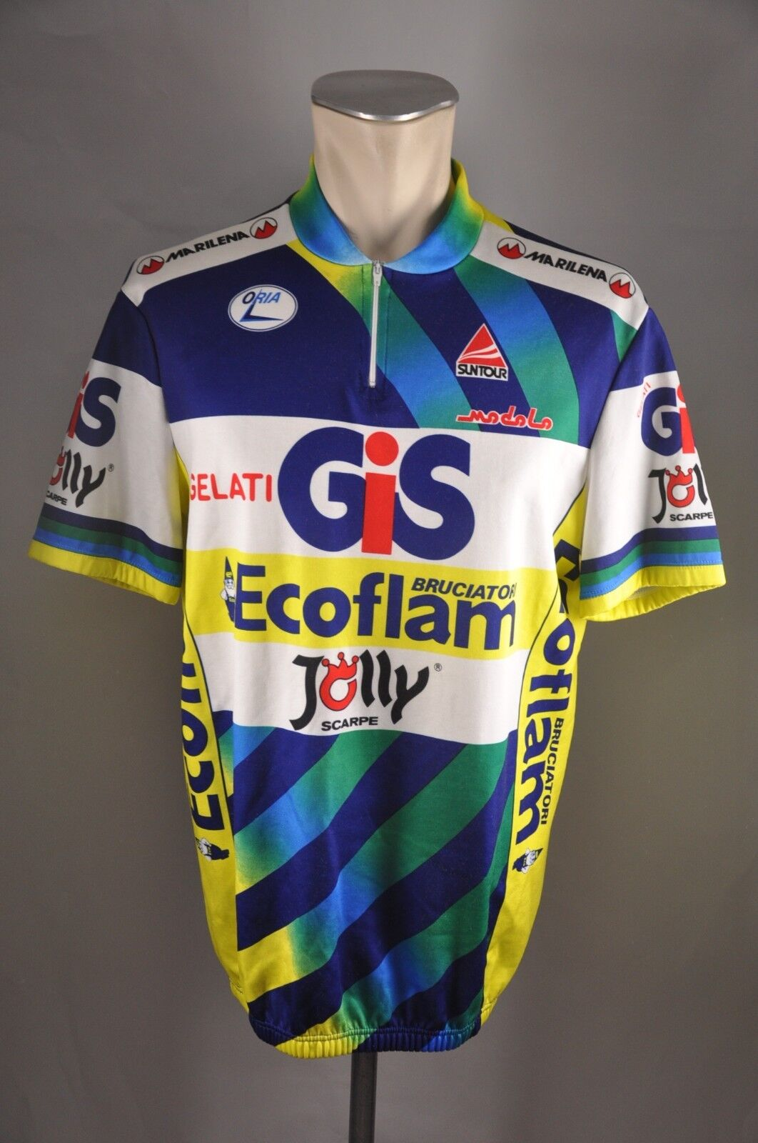 Gelati GIS Marilena Team jersey bike Gr 7 BW 57cm cycling Trikot KE7