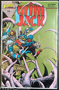 Grim-Jack-Vol-1-12-VF-1st-Print-Free-UK-P-amp-P-First-Comics