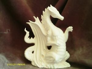 Fire-Dragon-9-034-ready-to-paint-ceramic-bisque