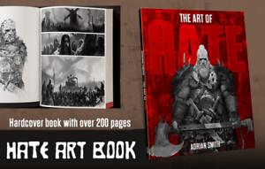 Cool-mini-or-not-Hate-Kickstarter-exclusive-boardgame-Hate-Art-book