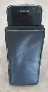 Leather-Phone-PDA-Remote-Control-Case-Holder-Belt-Loop-Storage-Winn-9451-Black