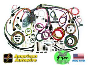 1973-82 chevy c10 truck american autowire classic update wiring ...  ebay