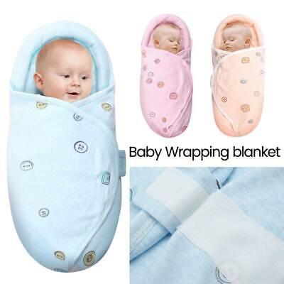 High Quality  Baby Infant Swaddle Wrap Swaddling Blanket Sleeping Bag