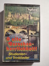 Musik-Kassette - O alte Burschenherrlichkeit / Studentenlieder / Studentika