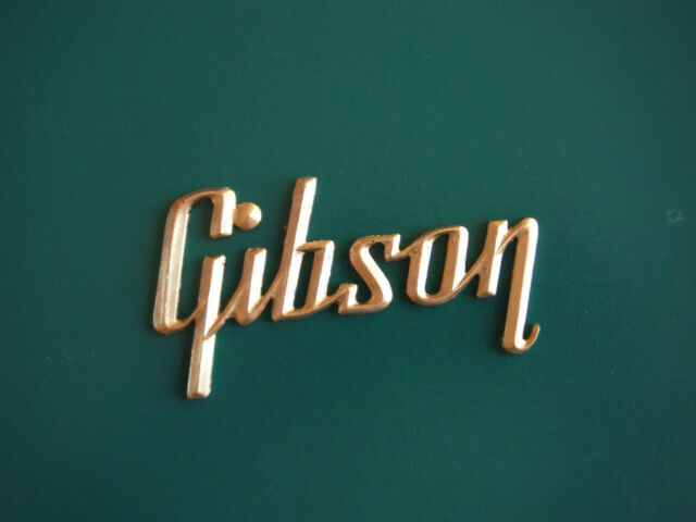Gibson Amp Logo- gold