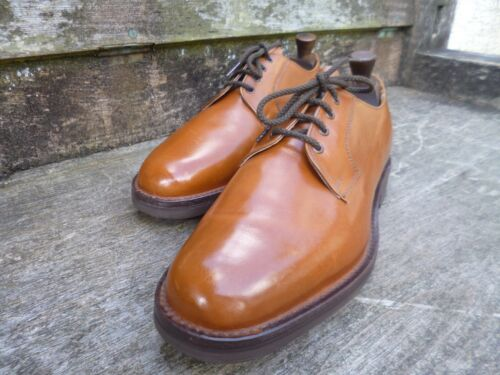 8 Derby Worn Cheaney Once Church Vintage Veldtschoen Tan Brown Uk 5 pUqg1Pwq