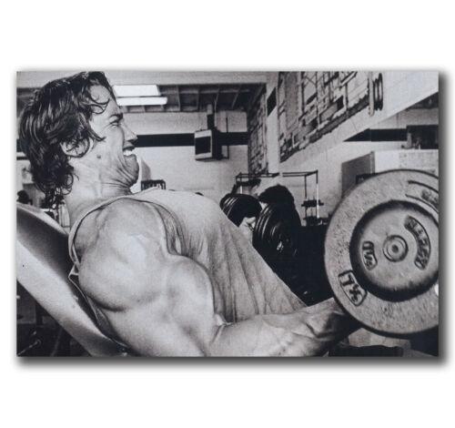E2751 Art Arnold Schwarzenegger Black White Poster Hot Gift 24x36 40inch