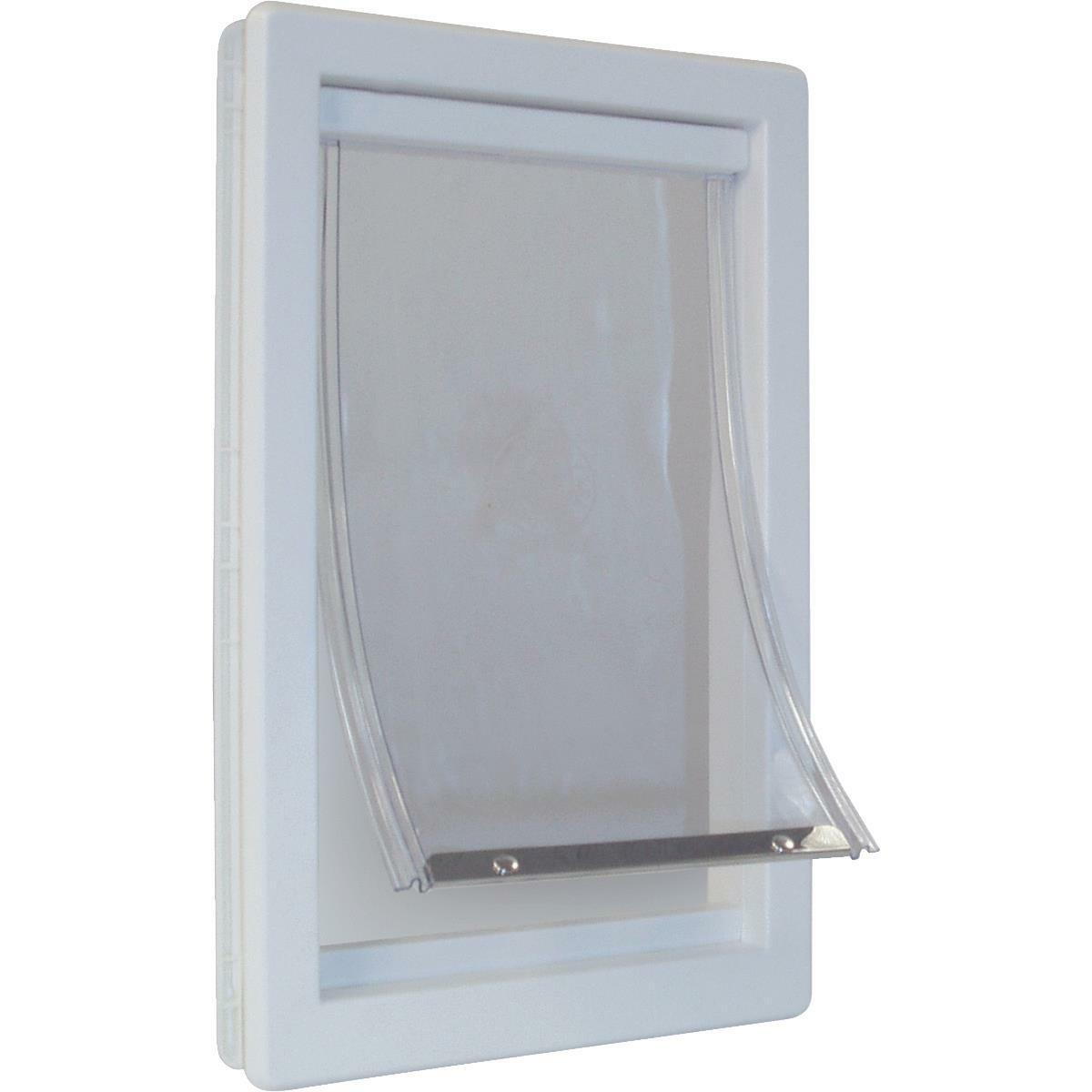 Ideal Ideal Ideal Pet Super Lrg Plstc Pet Door 28f502