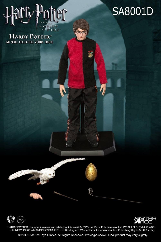 Estrella Ace Harry Potter Triwizard Tournament 1 8 Escala Figura de Acción SA8001D Rara