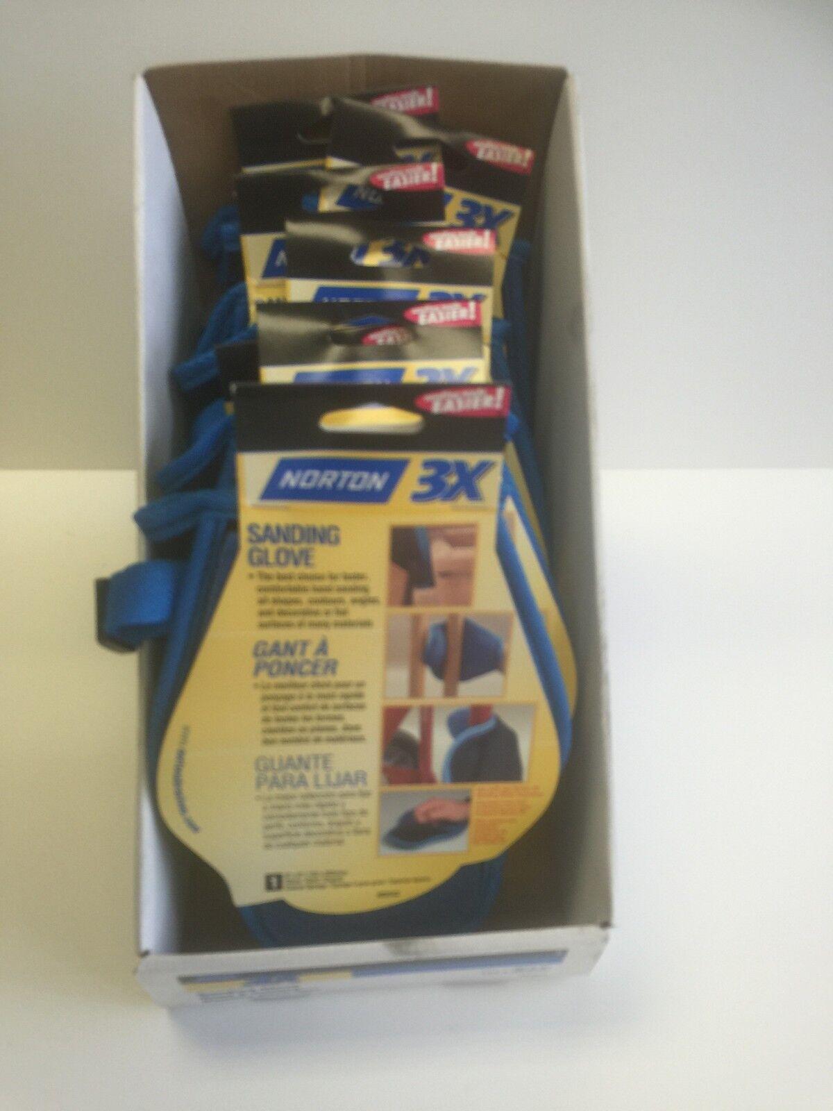 "Norton 80-14789 Sanding Glove for Wood Working//Finishing #05543 6/""x8/"""