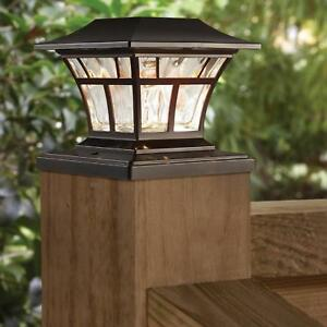 Hampton Bay Solar Powered Outdoor Led 3000k Warm White