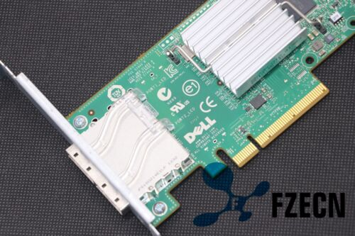 Dell H200E 6Gb//s SAS PCIe HBA 2 Port Ext SFF-8088 12DNW LSISAS2008=LSI 9200-8E