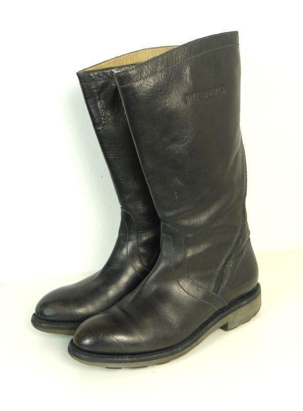 Los últimos zapatos de descuento para hombres mujeres y mujeres hombres Bikkembergs botas botas de cuero cuero negro Gr. (dw99) 4cb9ce