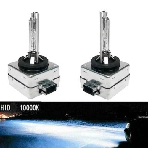 D1S HID Xenon Bulbs Direct Replacement PAIR 5000k 6000k 8000k 10000k Colours New