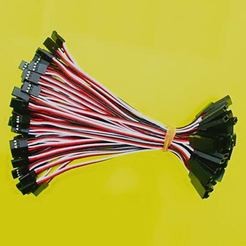 50 Pcs 15cm Servo Extensión Cable de conversión de alambre de plomo para Futuba