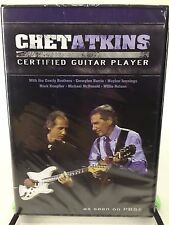 NEW Chet Atkins Certified Guitar Player DVD Emmylou Everly Jennings Knopfler