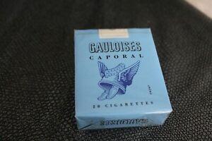 1 Paquet De cigarettes Gauloise Caporal sans filtre pour Collection sous blister