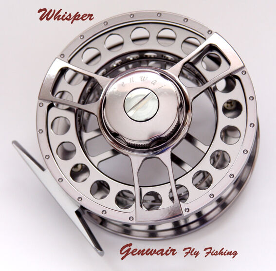 Genwair Whisper Fliegen Reel Line Gewicht 4  6 & 7  9 Lifetime Guarantee