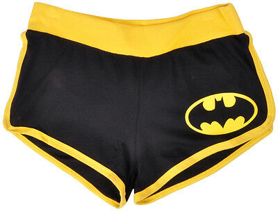 Batman Booty Shorts Low Rise Hot Derby Pants DC Comics Petite Womens XS-3X
