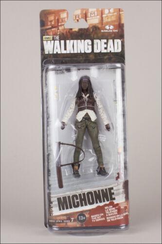 "5/"" ACTION FIGURE MCFARLANE TOYS MICHONNE THE WALKING DEAD TV SERIES 7"