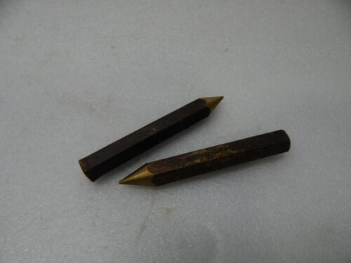 """1//2/"""" Inch 3/"""" Long Brass Hex Bar Mill Rod Stock .50/"""" with 1/"""" deep threaded end M8"""