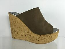 Callisto Womens Brown Wedges 4