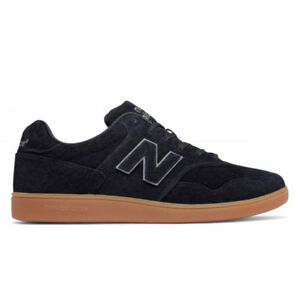 ba1f6cb012be7 Details about New Balance Men's 288 Suede Lifestyle Shoes NEW AUTHENTIC  Black/Gum CT288BL