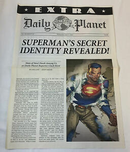 2015-DC-Comics-SUPERMAN-promo-DAILY-PLANET-newspaper-page