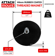 44mm Magnet 14 20 Thread Fits Milwaukee Drill Bit And Driver Case Rubber Coat