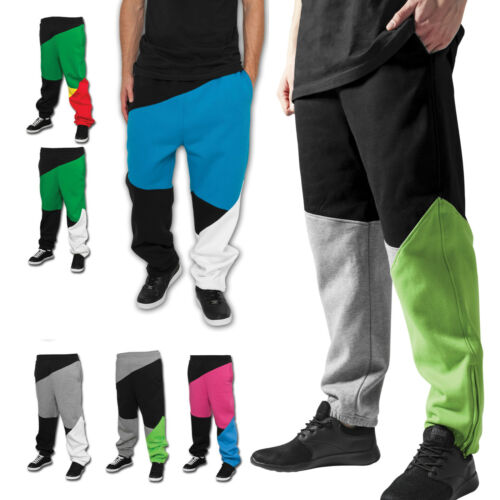 Reduziert Urban Classics Zig Zag Sweatpants Jogginghose Stoff bunt Zick Zack