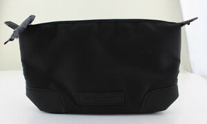 Burberry-Beauty-Travel-Toiletry-Washbag-Black-Zip-Top-New-in-Box