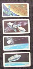 1969 THE SPACE AGE Red Rose Tea Trading Card LOT of 5 VF 8.0 Brooke Bond #1 14