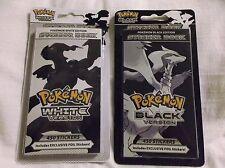 Pokemon Black & White Sticker Books.  Exclusive Foils.  Reshiram & Zekrom..!