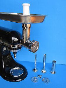 Original Stainless Steel Meat Grinder For Kitchenaid Mixer