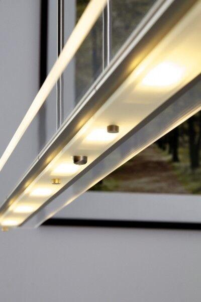 Lampe suspension à LED Variateur Plafonnier Lustre Lampe pendante en métal 58323