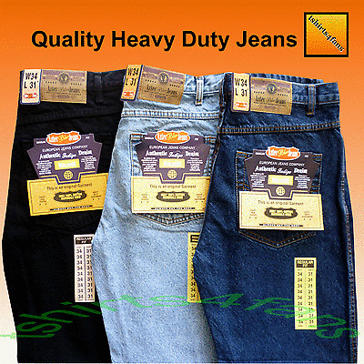 "Mens Aztec Hard Wearing Heavy Duty Work Jeans  Leg 27"" 29"" 31"" 33"" Sizes 28 - 40"