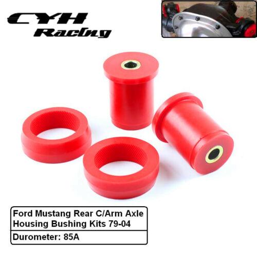 Polyurethane Rear Control Arm Axle Housing Bushing Kits For Ford Mustang 79-04