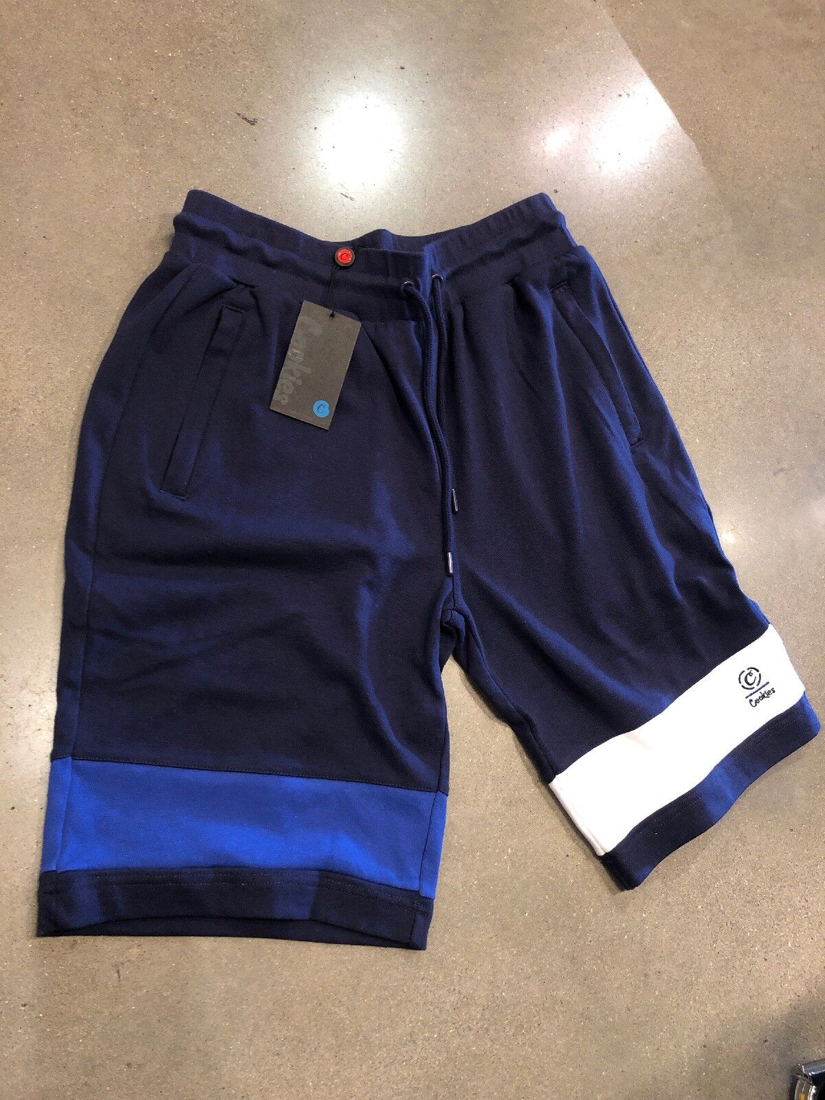 1e8614c23ffc8e Cookies Navy bluee Sweat Shorts 100% No Flaws Size XLarge New With Tags