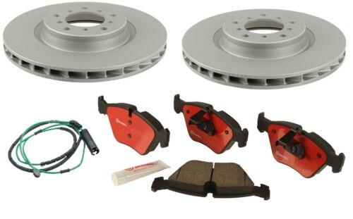 Zimmerman Brake Rotors BMW E46 M3 Brembo Brake Pads Rear Sensor