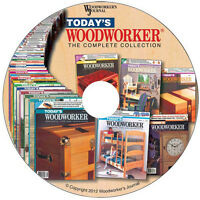 Today's Woodworker® Complete Collection From Woodworker's Journal on Sale