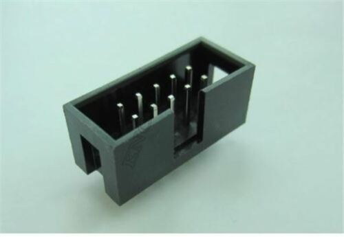 30Pcs Dual Row 5 X 2 Isp Download Jtag I//O Socket DC3-10P 2.54MM Pitch New Ic cl