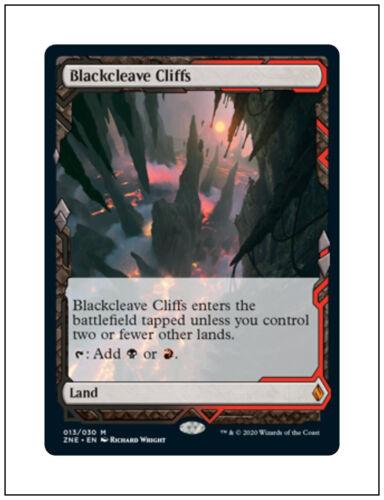 1x Blackcleave Cliffs Magic the Gathering MTG Zendikar Rising Expedition